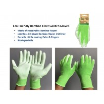 Sco Friendly Bamboo Fiber Gardening Gloves
