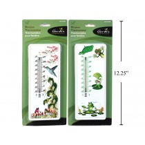 Plastic Window Thermometer ~ 8.6""