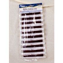Black Braided Line 15lb ~ 10 yard coils