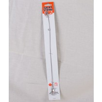 Lucky Strike Clear Nylon Coated Leaders ~ 12""