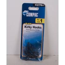 Compac Black Kirby Hooks