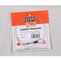 Lucky Strike Stainless Steel High Test Leaders ~ 18""
