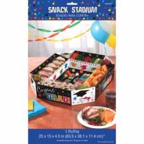 "Graduation Paper Snack Stadium ~ 4-1/2""H x 25""W x 15""D"