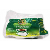 GK Connaisseur Coffee Filters 4/8 Cups Basket ~ 100 per pack