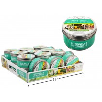 Citronella Candle in Tin Can