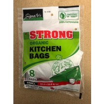 Compostable Kitchen Compost Bags ~ 8 per pack