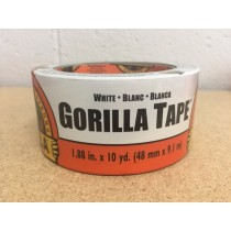 "Gorilla White Tape ~ 1.88"" x 10yds"