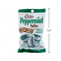 Christmas Palmer's Chocolate Peppermint Patties ~ 122gr bag