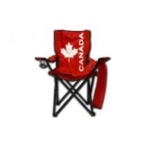 Canada High Back Folding Arm Chair with Carrying Case