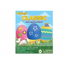 Dudley's Classic Easter Egg Decorating Kit ~ includes magic crayon