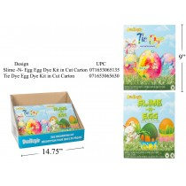 Dudley's Egg Decorating Dye Kits ~ Tie Dye / Slime-n-Egg