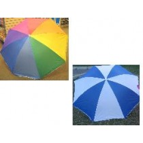 "Beach Umbrella w/Tilt ~ 36"" x 8 ribs"
