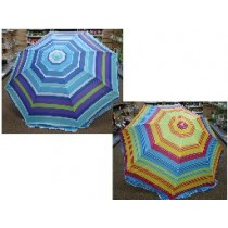 "Beach Umbrella w/Tilt ~ 42"" x 8 ribs"