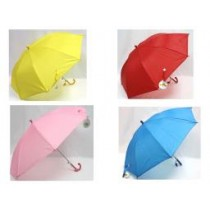 "Kid's Umbrella with Whistle ~ 17-1/2"" x 8 ribs"