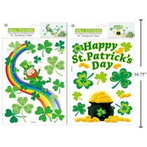 St. Patrick's Day Room Decor Clings