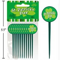 St. Patrick's Party Pick ~ 10 per pack