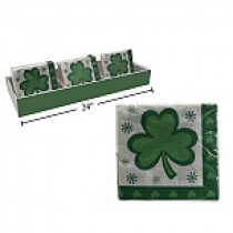 """St. Patrick's Day Napkins - 13"""" x 13"""" ~ 16 per pack"""