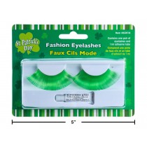 St. Patrick's Day Green Eyelashes with Glue