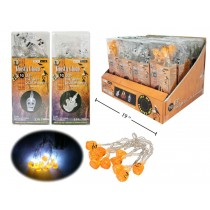 Halloween Mini Indoor LED Lights - Battery Operated ~ 10 per pack
