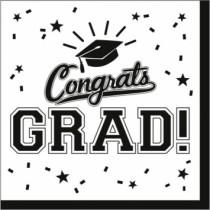 Congrats Grad! Napkins ~ 36 per pack