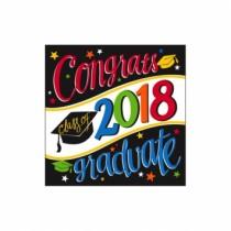 Congrats Class of 2018 Graduate! Napkins ~ 36 per pack