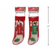 Christmas Pet Rawhide Dog Stocking
