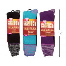 Ladies Heat Max Thermal Long Socks
