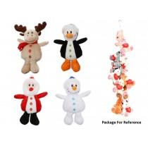 """Christmas Plush Toys ~ 6.5"""" High"""