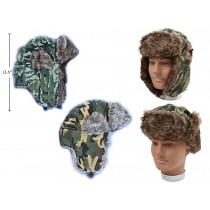 Adult Camouflage Aviator Hat