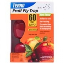 Terro Fruit Fly Traps~ 2 per pack