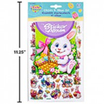 Easter Sticker Album Set ~ 45 pieces