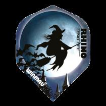 Rhino Flights ~ Witch on Broom