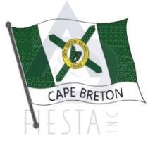 Cape Breton Wavy Flag Magnet