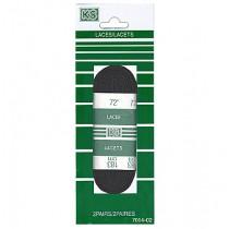 """Sport Laces 72"""" ~ Black"""