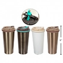 PURE Double Wall Coffee Tumbler with Lid ~ 450ml
