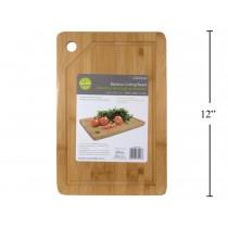 "Luciano Bamboo Cutting Board ~ 12"" x 8"" x 1.5"""