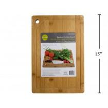 "Luciano Bamboo Cutting Board ~ 10"" x 15"" x 1.5"""