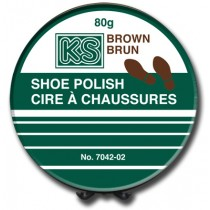 Shoe Polish - Wax ~ Brown