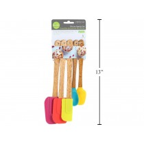 Luciano Silicone Spatula Set ~ 5 pieces