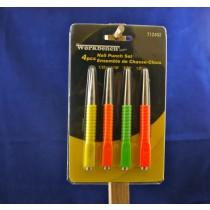 Nail Punch Set ~ 4 sizes