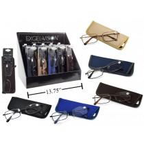 Excel Vision Reading Glasses w/Case