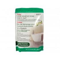 Bodico Epsom Salt - Eucalyptus Scented ~ 454gram / 16oz bag