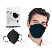 Bodico KN95 Protective Face Mask - Black ~ 5 per pack
