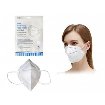 Bodico KN95 Protective Face Mask - White ~ 5 per pack