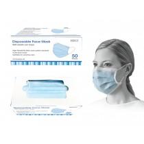 Bodico 3-Ply Disposable Mask - Blue ~ 50 per box