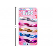 Kid's Holographic Snap Barrettes ~  10 per pack