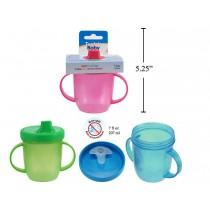 Tootsie Baby Twin Handle Spill-Proof Cup ~ 7oz