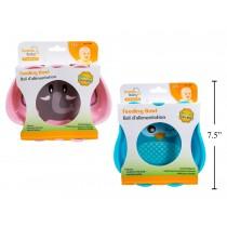 Tootsie Baby Feeding Bowl ~ Elephant/Owl