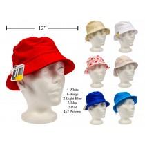 Kid's Assorted Colors Bucket Hat