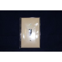 Toggle Switch Cover - Single ~ Ivory